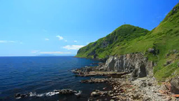 立待岬から望む西方向の海岸 Footage