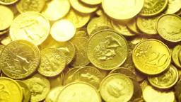 金貨のイメージ Footage