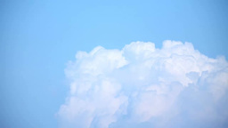 A blue sky and thunderclouds Footage