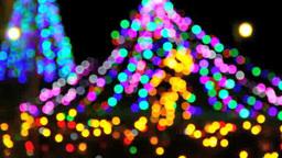 クリスマスのイルミネーション Footage