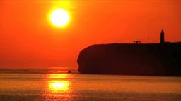 能取岬の日の出とオホーツク海 Footage