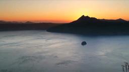 摩周湖の朝 Footage