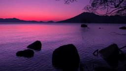 支笏湖の朝 Footage