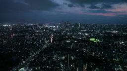 新宿周辺の夜景 Footage