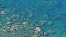 小笠原父島のサンゴ礁と海岸 Footage