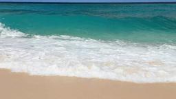 海と青空と波 Footage
