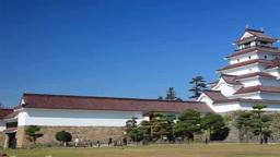 秋の鶴ヶ城 Footage
