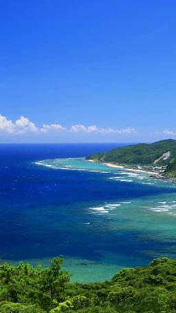 笠利崎と高崎山と海 ภาพวิดีโอ