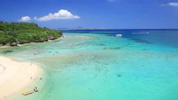 瀬底島とアンチ浜と伊江島 Footage