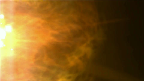 burn sun and stars,golden nebula and whirl laser,energy... Stock Video Footage