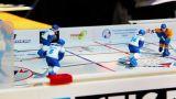 Table hockey amateur tournament Footage