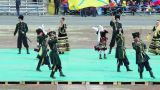 Cossack Ensemble Dances stock footage
