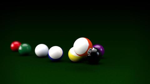 Billiards Stock Video Footage