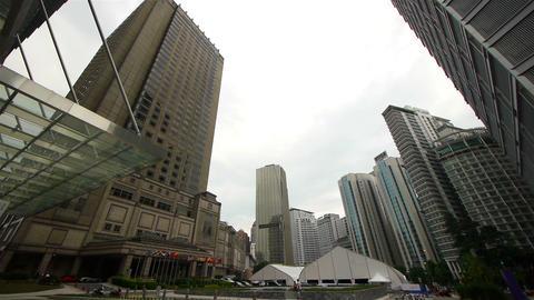 Сity skyline, Kuala Lumpur, Malaysia Stock Video Footage