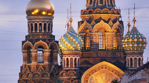 Church of the Savior on Spilled Blood Footage