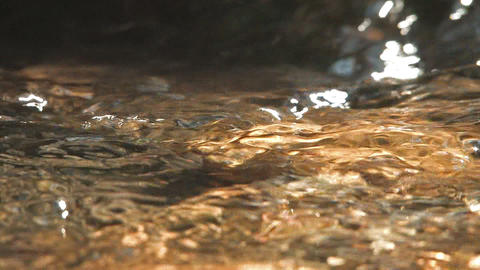 Water movement of the River,slow motion,in... Stock Video Footage