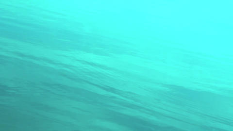 blue water surface Stock Video Footage