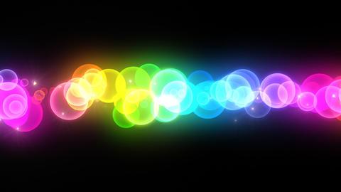 Neon LED Dot11 Eb1b HD Stock Video Footage