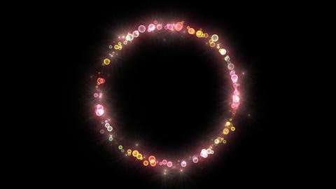 Neon LED Dot11 Fa4 HD Stock Video Footage