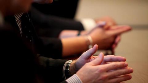 hand gestures Stock Video Footage