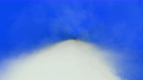 fast flying through clouds Stock Video Footage