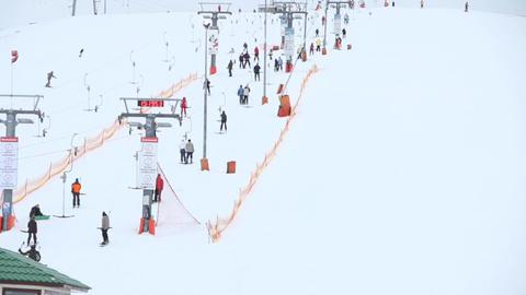 ski resort Stock Video Footage
