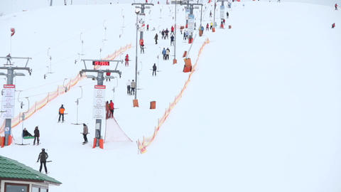 ski resort Stock Video Footage
