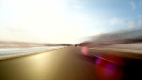 Country road loop 2 Stock Video Footage