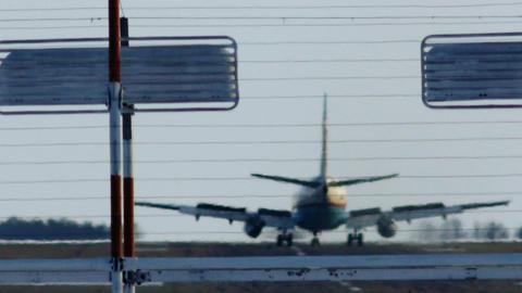 Landing 1 Stock Video Footage