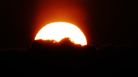Sunset timelapse 14 Stock Video Footage