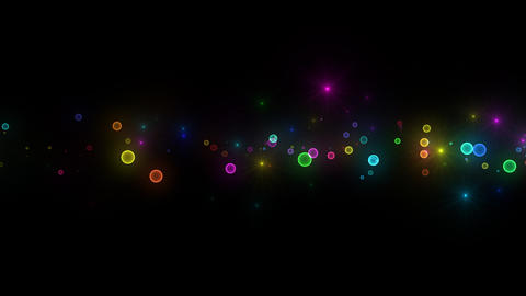 Neon LED Dot11 Ea2a HD Stock Video Footage