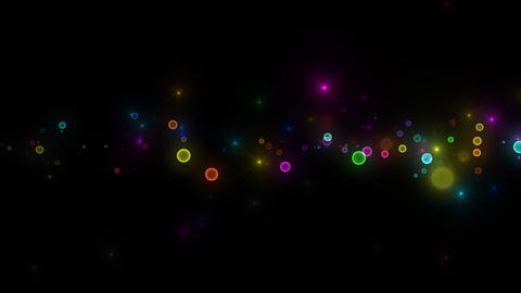 Neon LED Dot11 Ea3 HD Stock Video Footage