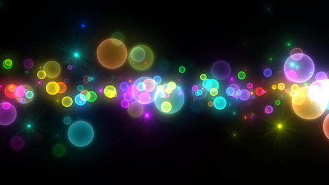 Neon LED Dot11 Eb3 HD Stock Video Footage