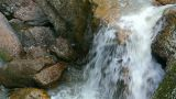waterfall Kukrauk in Russia, Ural Footage