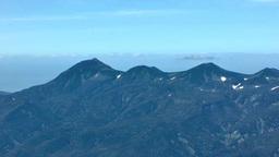 Shiretoko Mountain Range stock footage