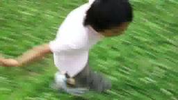 A running boy Footage