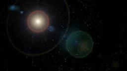 星の流れとフレア Footage