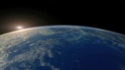 CG地球と光のエフェクト Footage
