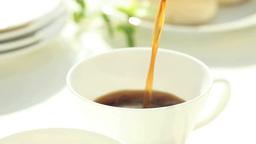 カップに注ぐコーヒー Footage