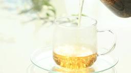 カップに注ぐ紅茶 Footage