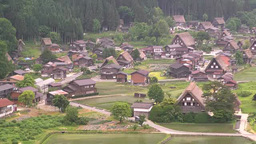 Shirakawa-g? village Footage