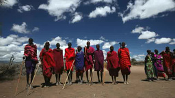 Maasai people Footage