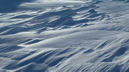 Drifting snow Footage