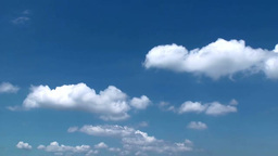 Moving clouds Footage