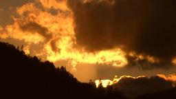 光芒の夕焼け Footage