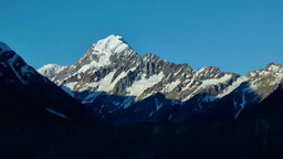 Mount Cook stock footage