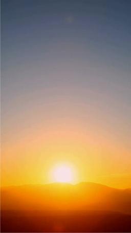 大雪山からの日の出 Footage