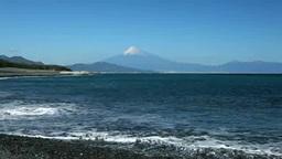 Mt. Fuji from Miho-no-Matsubara Footage