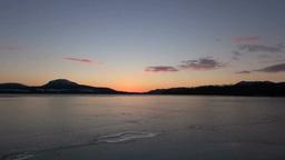日の出の屈斜路湖 Footage