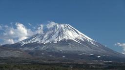本栖湖から望む富士山 Footage